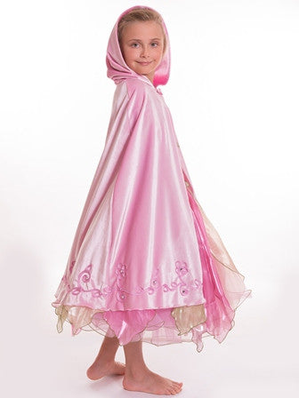Long Cape Baby Pink