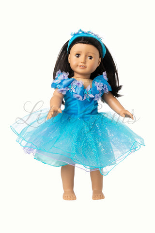 Doll Dress Ella Cinderella Princess
