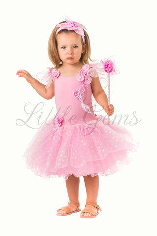 Toddler Butterfly Dress in Pink