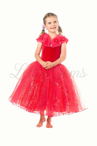 Ella Princess in Red