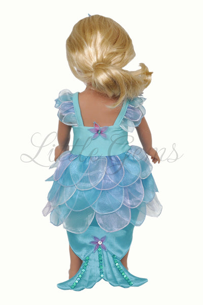 Doll Dress Little Mermaid Allana