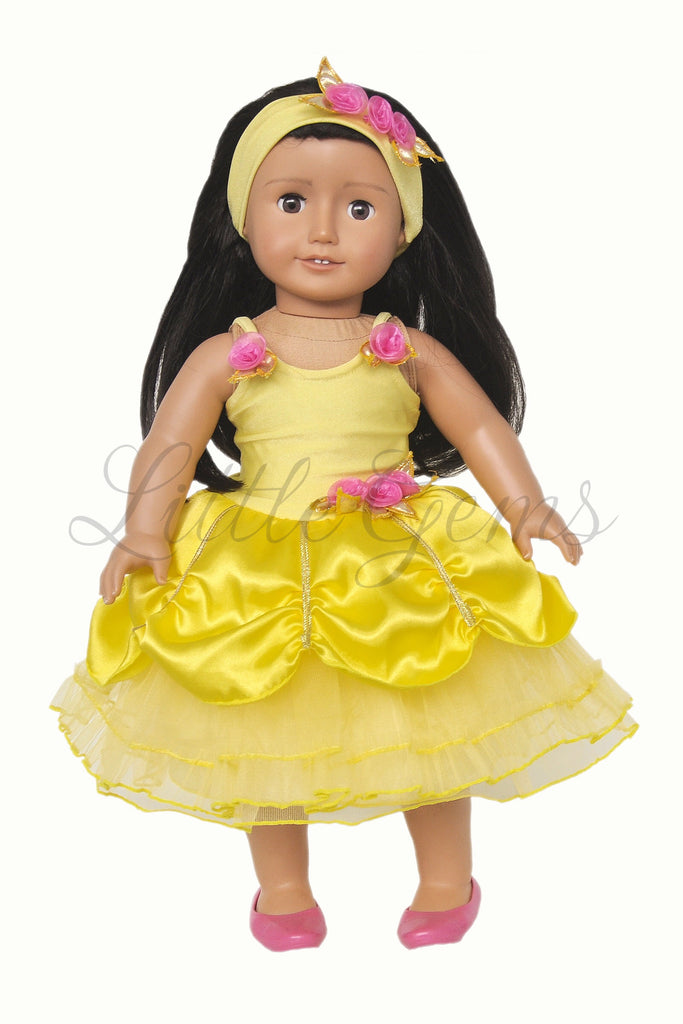 Doll Dress Belle Princess