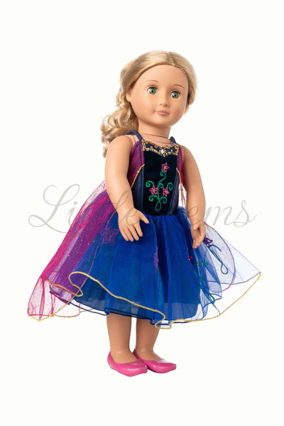 Dolls Dress Anna Princess