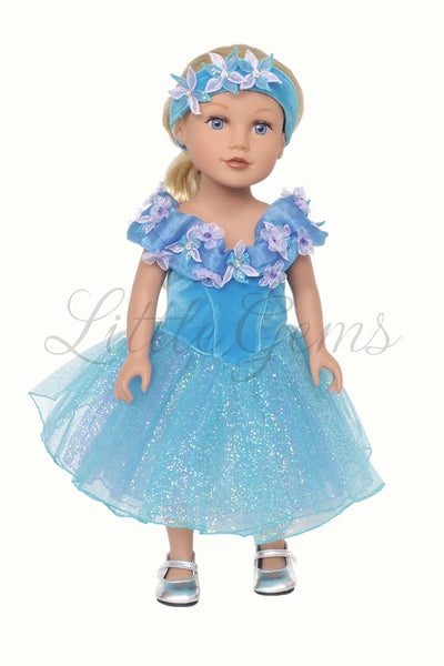"Cinderella Dress for 18"" Dolls"