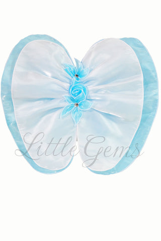 Petal Wing Apple Lace Aqua