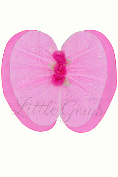 Petal Wing Roses Candy/Hot Pink