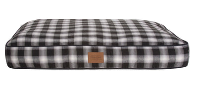 Charcoal Ombre Dog Bed