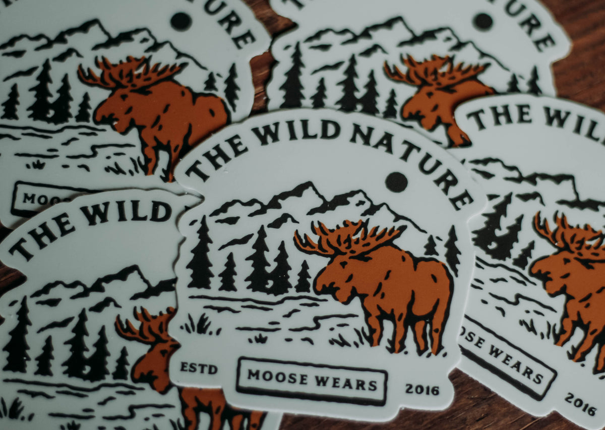The Wild Nature Sticker