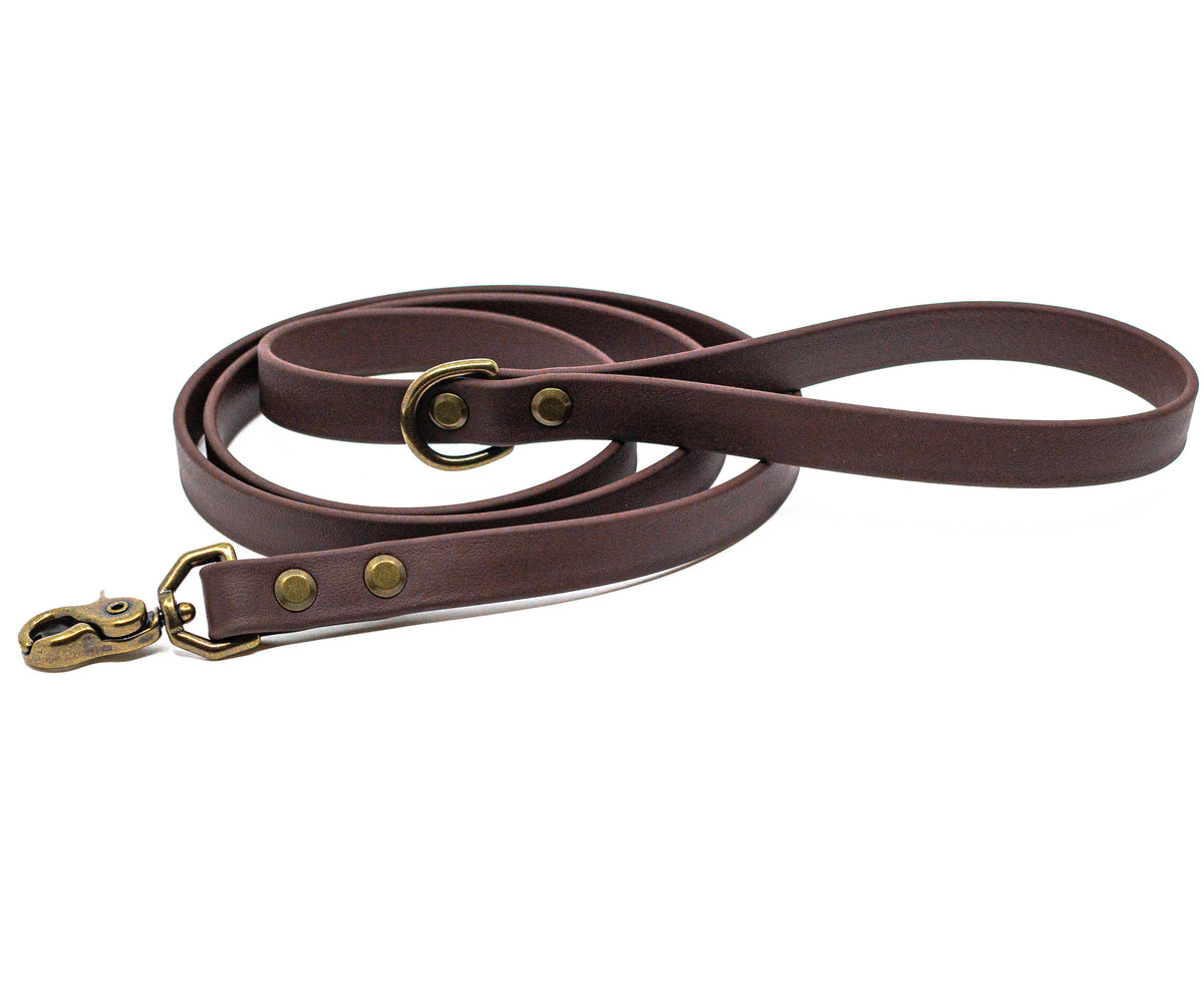 Rainier Leash - Saddle Brown