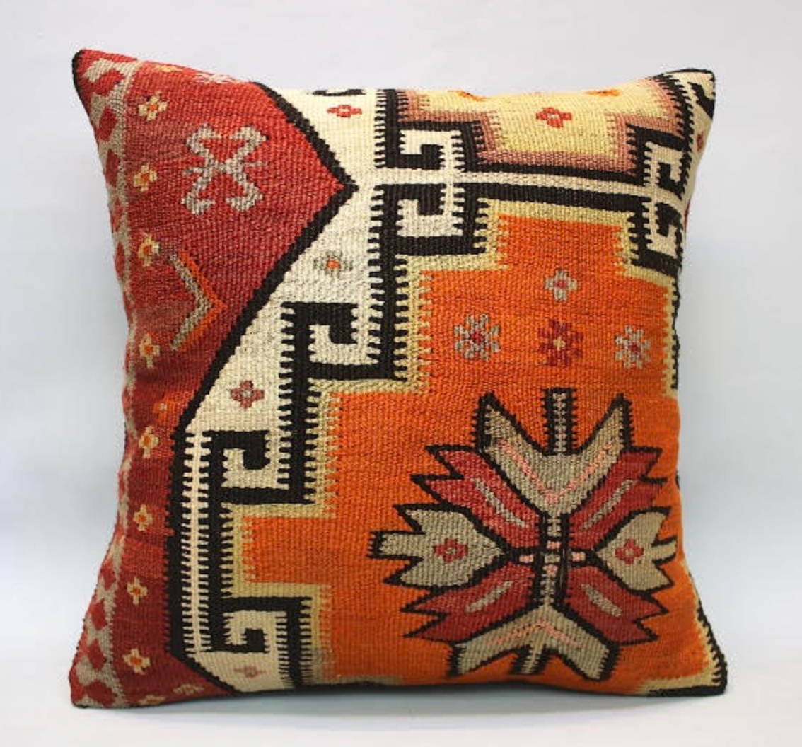 Kilim Pillow Cover - 06
