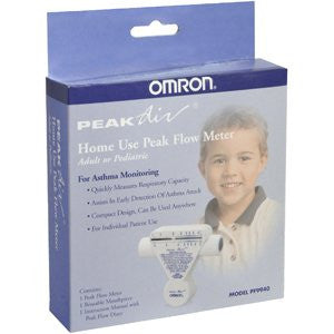 PEAK FLOW METER PF9940 DUAL/RNG by OMRON HEALTHCARE, INC.
