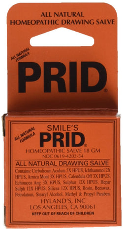 Hyland's Homeopathic Pride Drawing Salve, 18 Gram - Pack of 2.