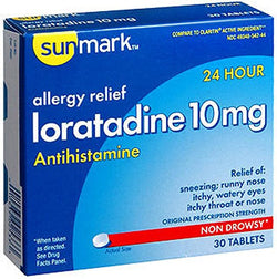 Sunmark Loratadine 10 mg 24 Hour Tablets - 30 ct