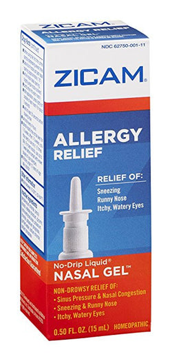 ZICAM ALLERGY NASAL GEL SPR 1/2 OZ