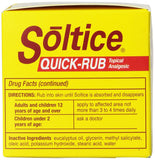 Soltice Quick Rub , 3 Oz