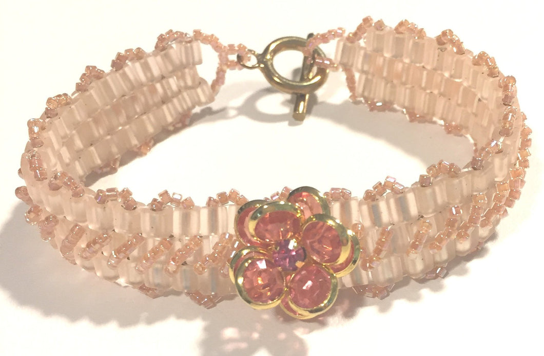 Crystal Rose Bracelet
