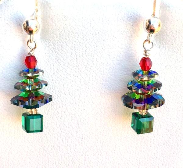 Holiday Tree Earrings