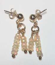 Golden Opal Earrings