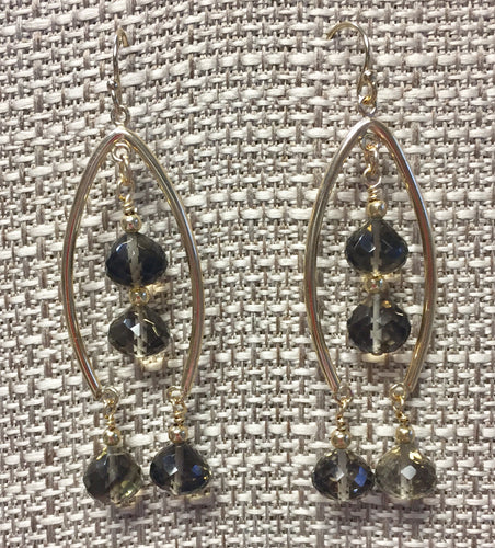 Smoky Dreams Earrings