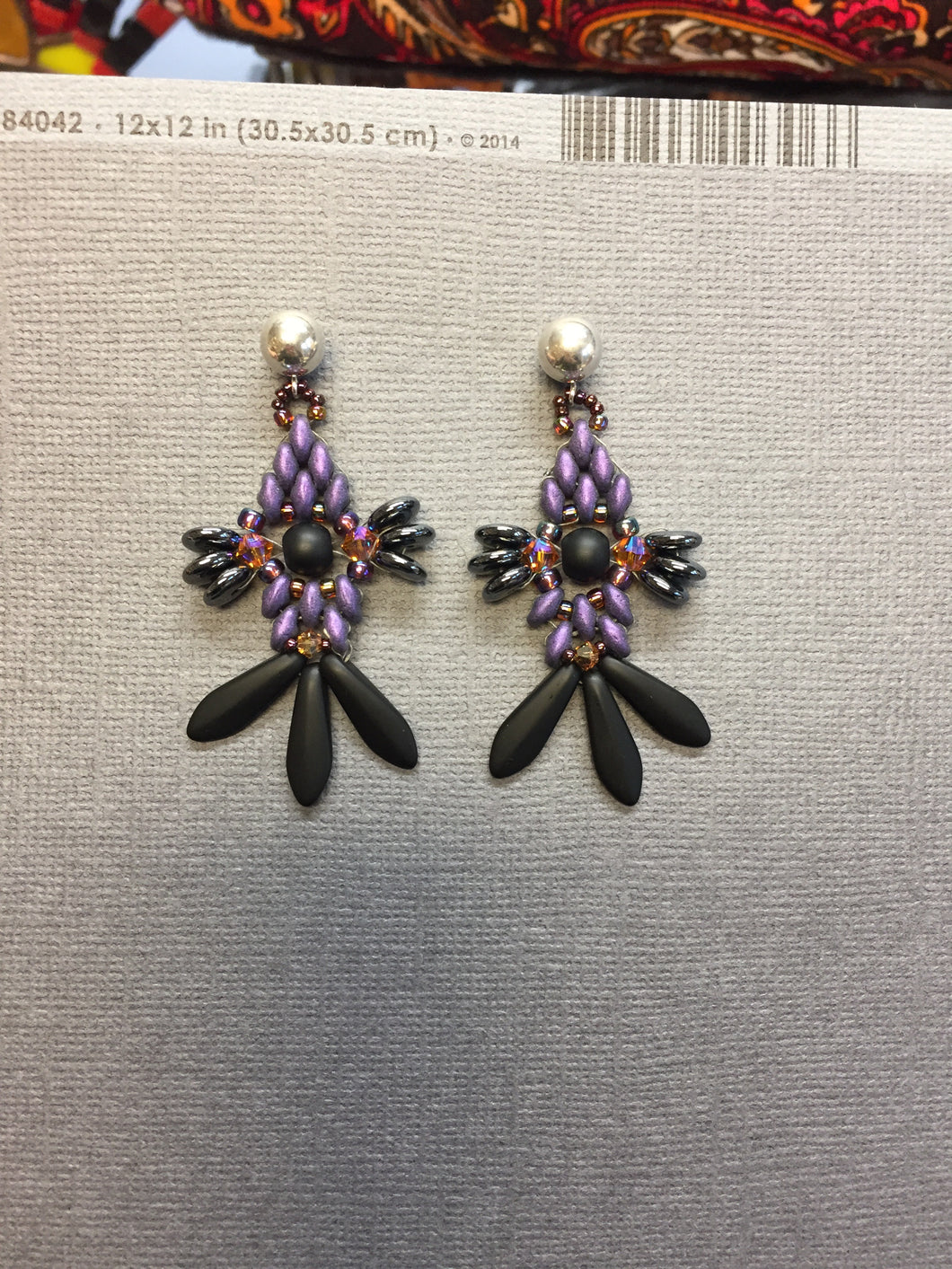 Purple Pleaser Earrings