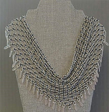 Beaded Scarf-necklace