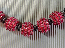 Swarovski crystal beaded beads