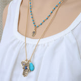 Hand of Fatima Lucky Necklace