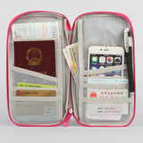 Portable Travel Wallet / Passport Cover