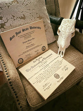 AWARDS AND DIPLOMAS ON WOOD