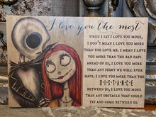 JACK SKELLINGTON & SALLY IN LOVE