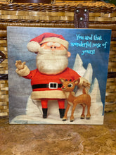 THE RUDOLPH CHARACTERS ON WOOD