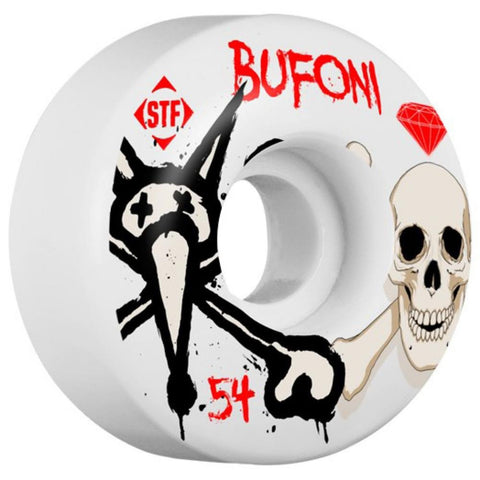 Bones STF Pro Bufoni Crest Wheels (52MM)
