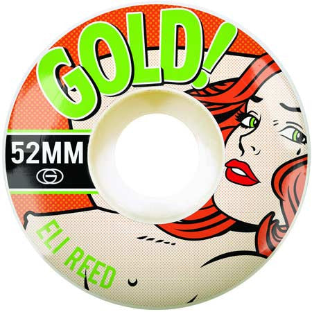 Gold Wheels Eli Reed Pop Babe Wheels (52mm)