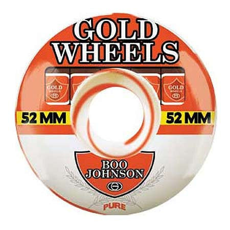 Gold Wheels Boo Johnson Orange Sweets Wheels (52mm)
