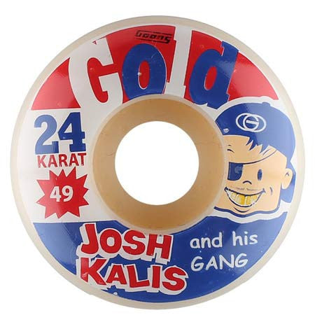Gold Wheels Josh Kalis Bazooka Wheels (49mm)