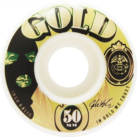 Gold Wheels Josh Kalis Currency Wheels (50mm)