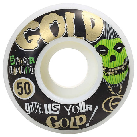 Gold Wheels Spencer Hamilton Club Glow in the Dark Wheels (50mm)