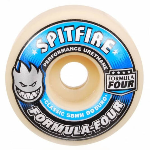 Spitfire Formula Four Classic 99D Wheels (58mm)