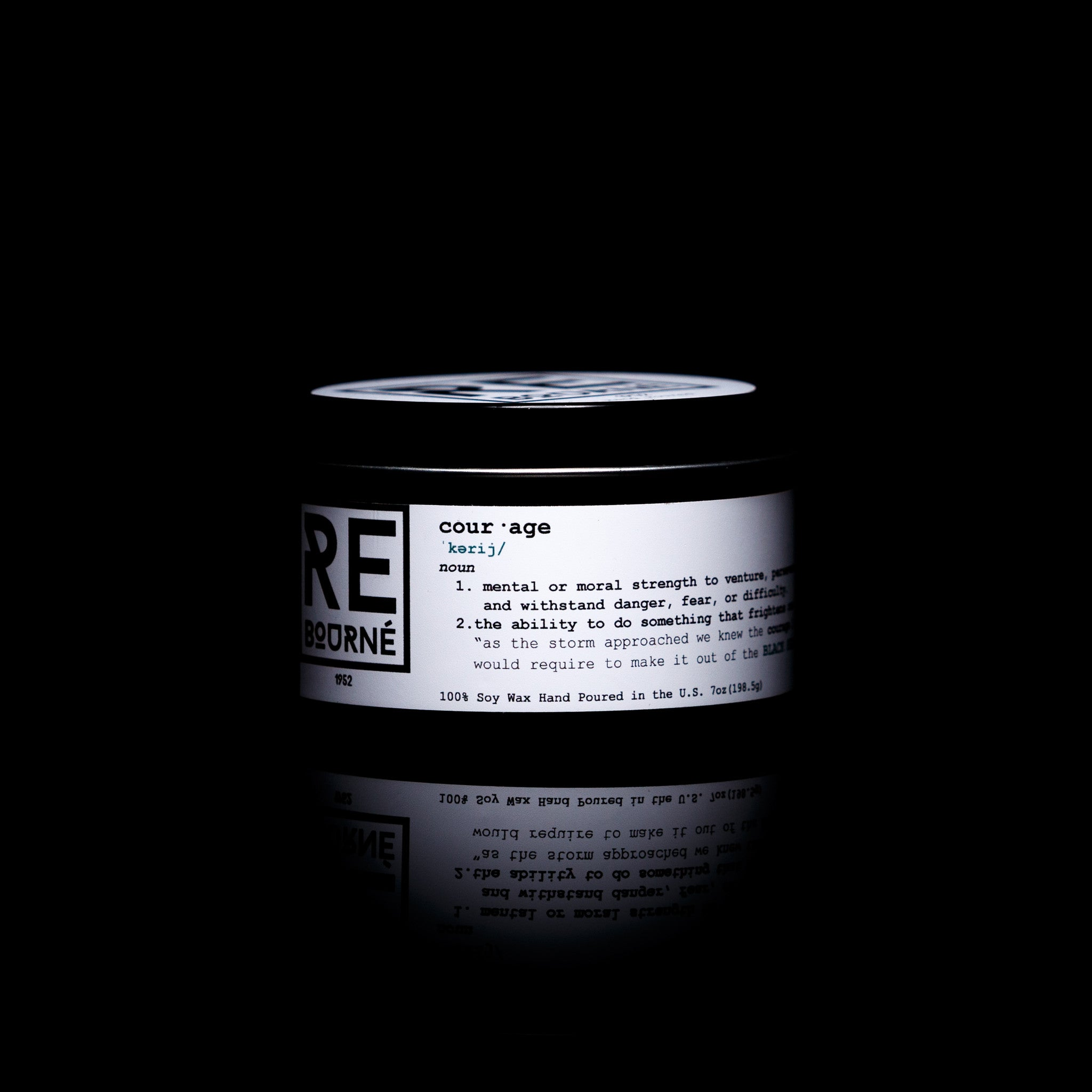 "BLACK SEA Scented Candle ""Courage"" - Rebourne Body + Home"
