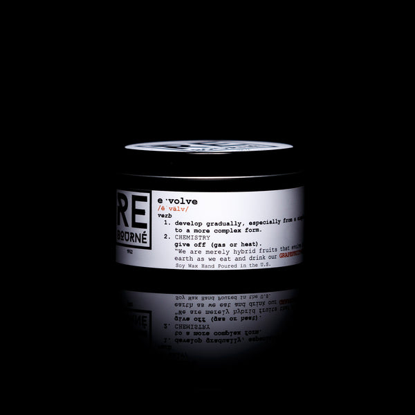 "GRAPEFRUIT + RAIN Scented Candle ""Evolve"" - Rebourne Body + Home"