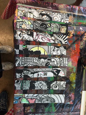 Art From The Streets Austin artist jeremiah hurts