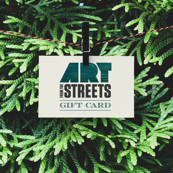 Art From The Streets Gift Card
