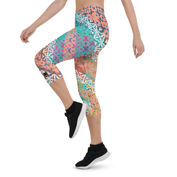 Capri Leggings w/ artwork by Kevin Lane