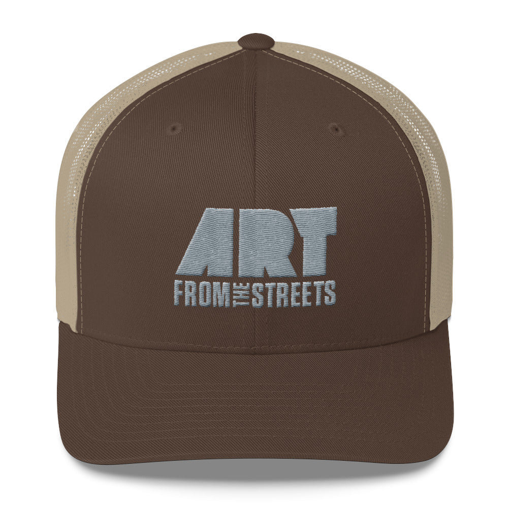 98ac971f5366f AFTS Logo Classic Trucker Cap - Art from the Streets