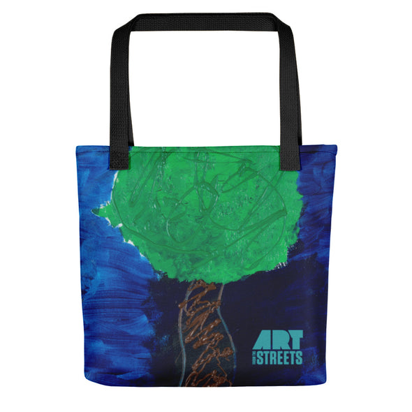 Beach tote w/ artwork by Melissa Craig