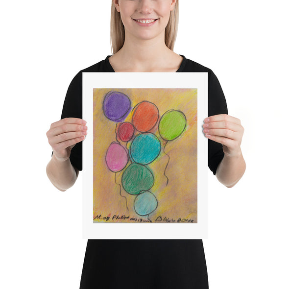 "Mary Phillips, AFTS Artist; ""Balloons"""