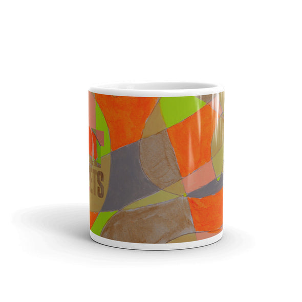 Mug w/ artwork by Shea Meissiner