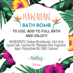 HAWAIIAN BATH BOMB