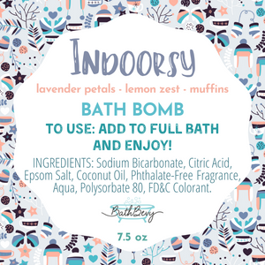 INDOORSY BATH BOMB