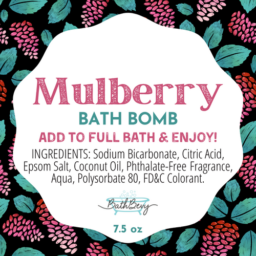 MULBERRY BATH BOMB